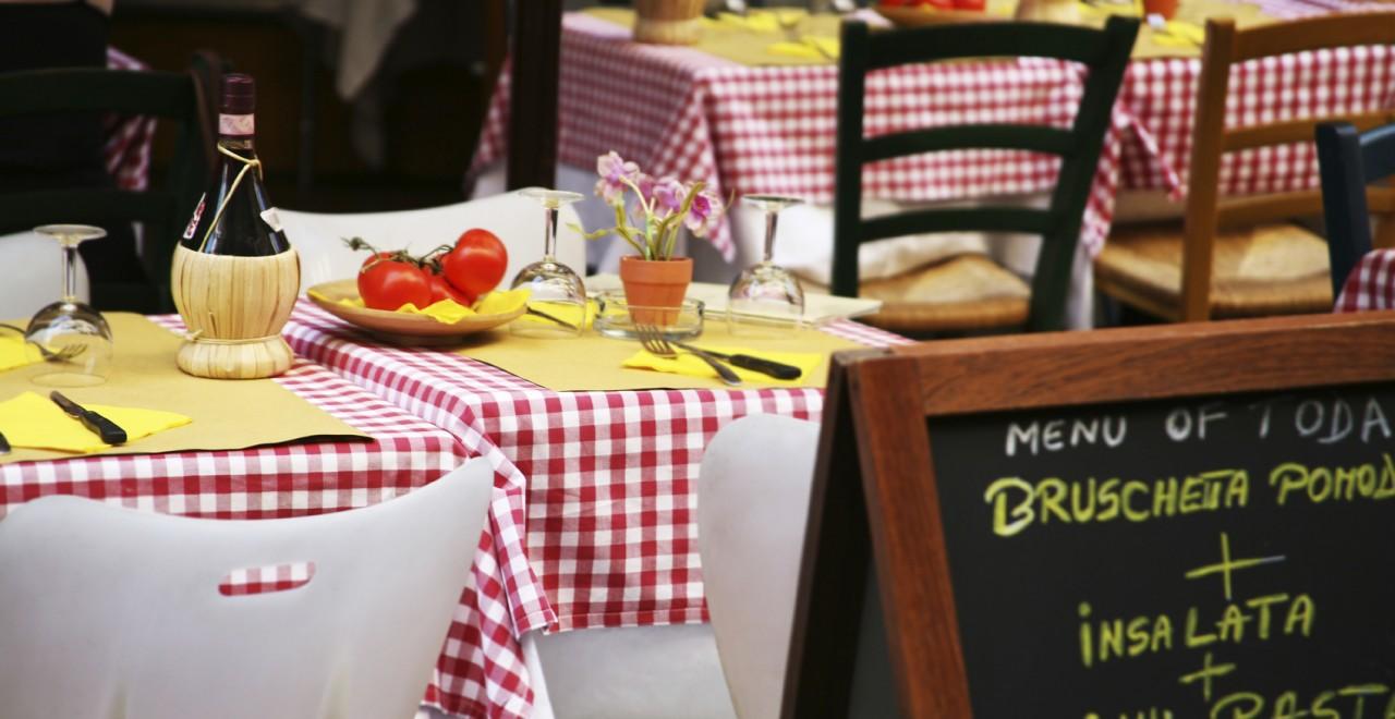 Italia restaurant mat