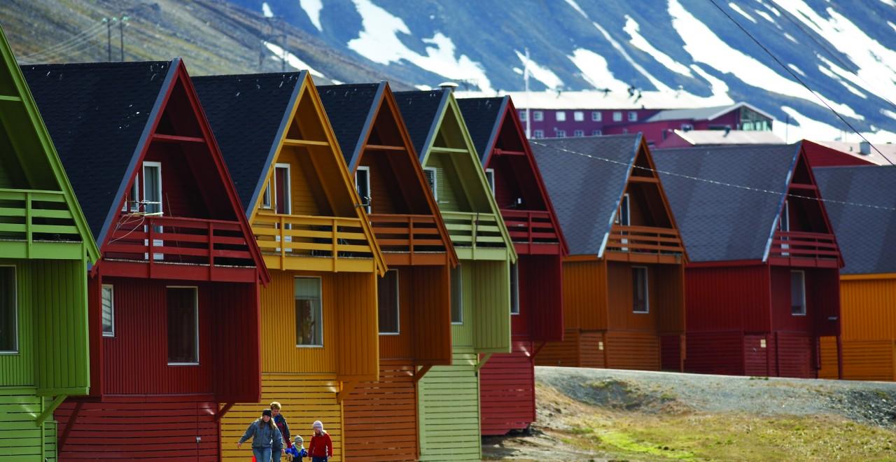 Longyearbyen, Svalbard Foto R Hartvig