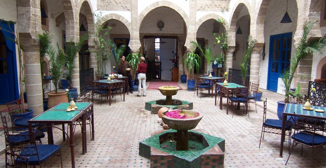 Riad Al Madina Patio Marokko