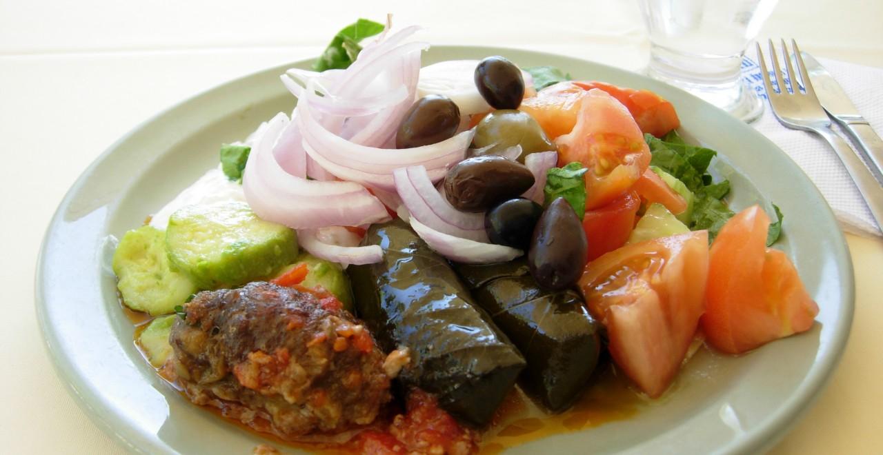 Gresk mat Hellas