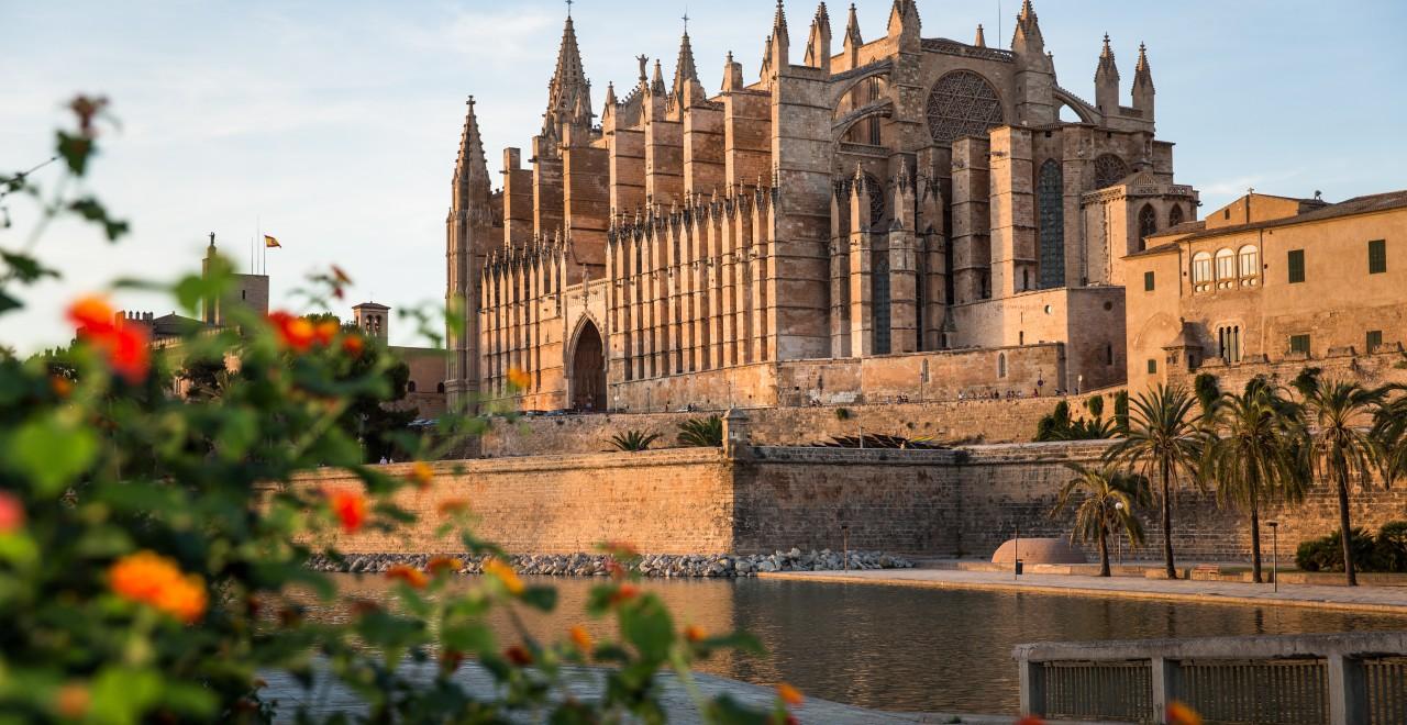 Palma katedral Mallorca Spania