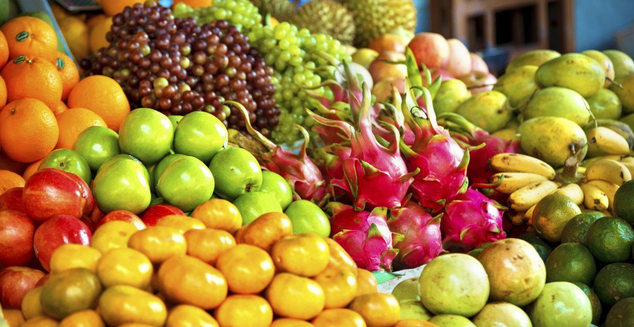 hoi an vietnam frukt mat
