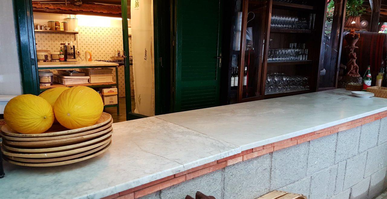 Italia Campania Sorrento Fattoria Terranova pizza