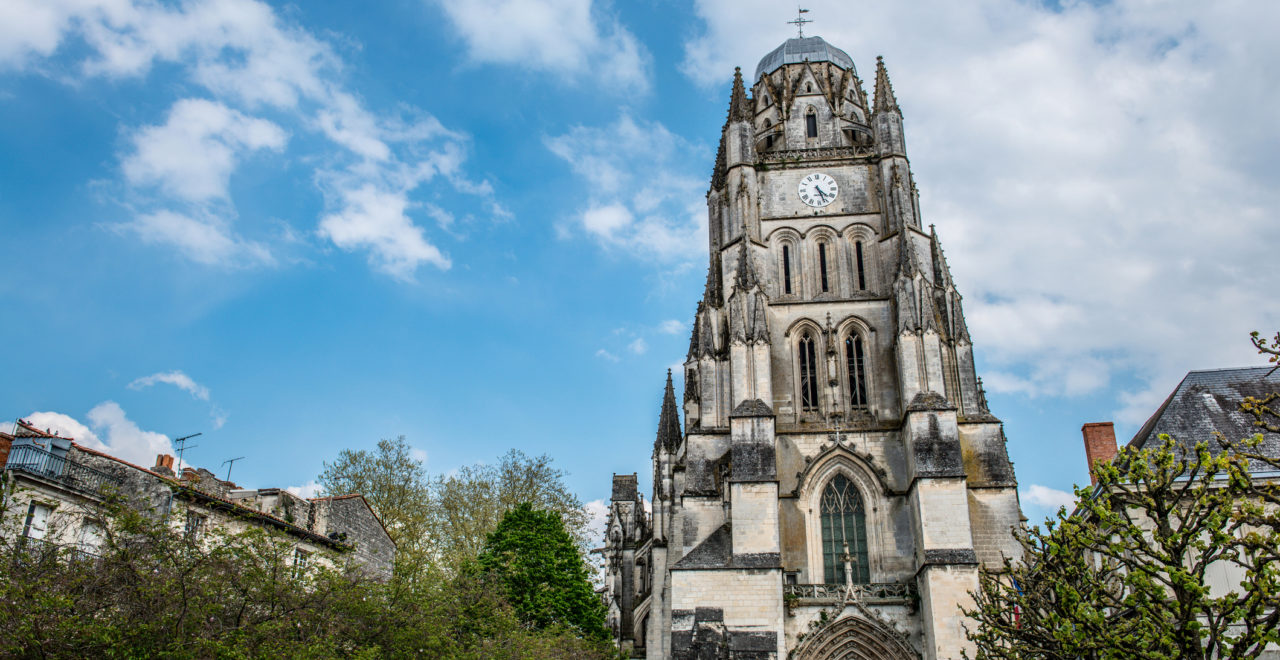 Frankrike_Saintes_Saint-Eutrope-Basilika