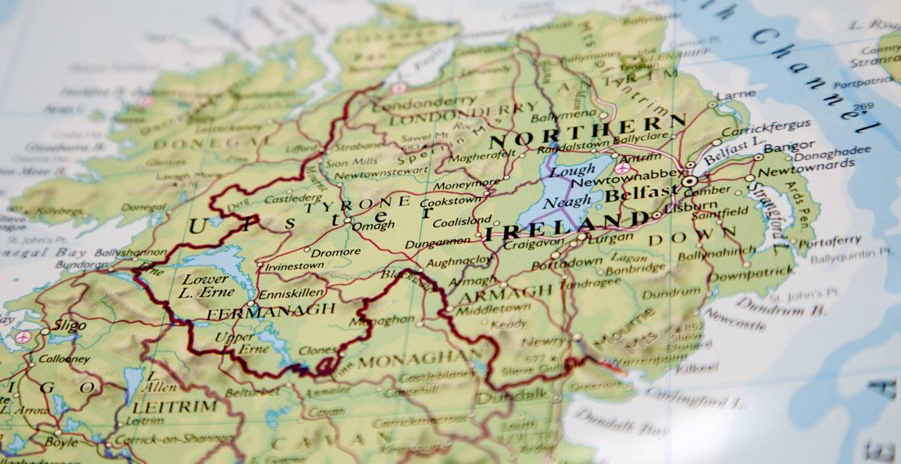 kart, nord-irland