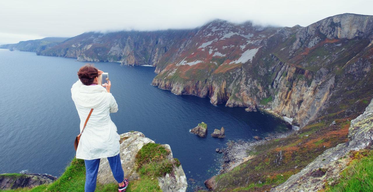 Slieve League cliffs, Nord-Irland