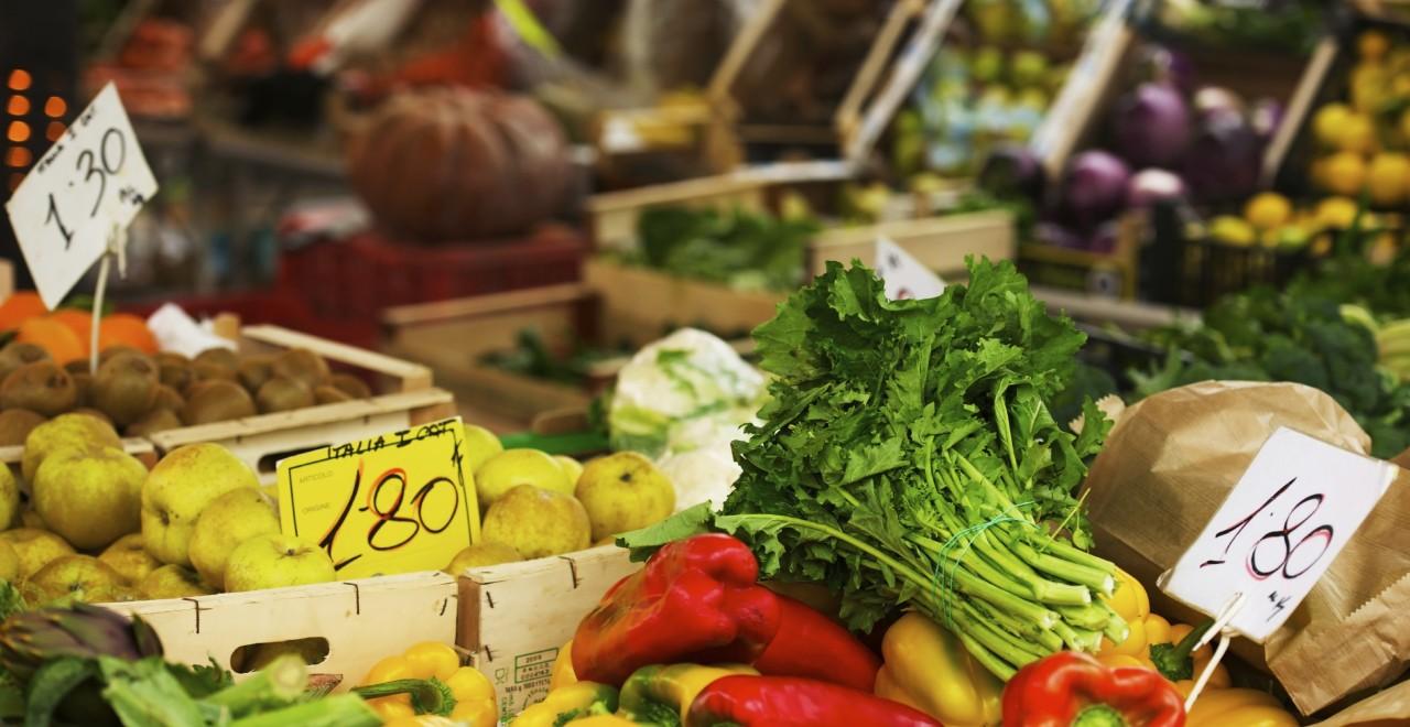 grønnsaker mat italia marked