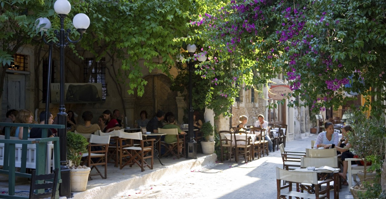 Rethymnon restaurant kreta hellas