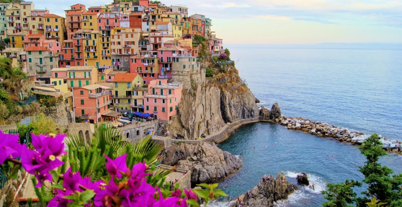 Manarola Cinque Terre Liguria Italia