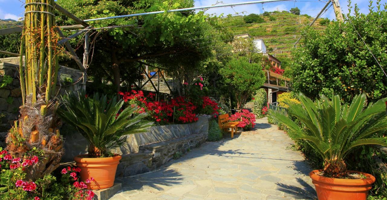 Via dell Amore Cinque Terre Liguria Italia