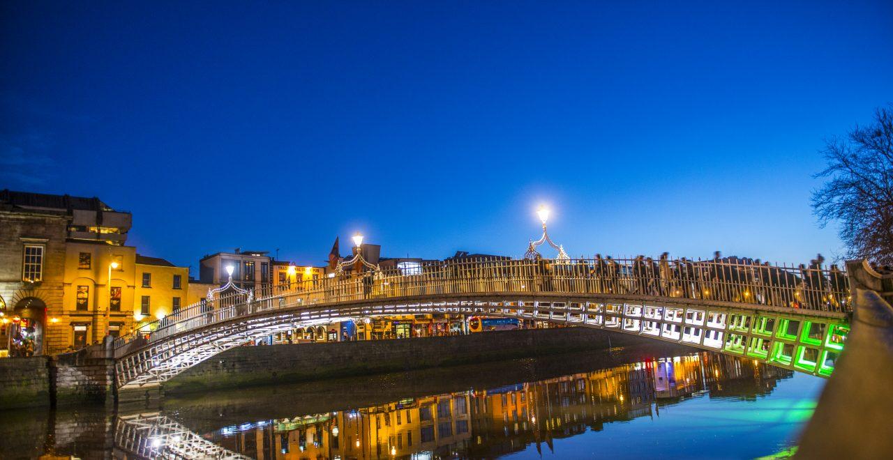 Ha'penny Bridge Dublin Irland