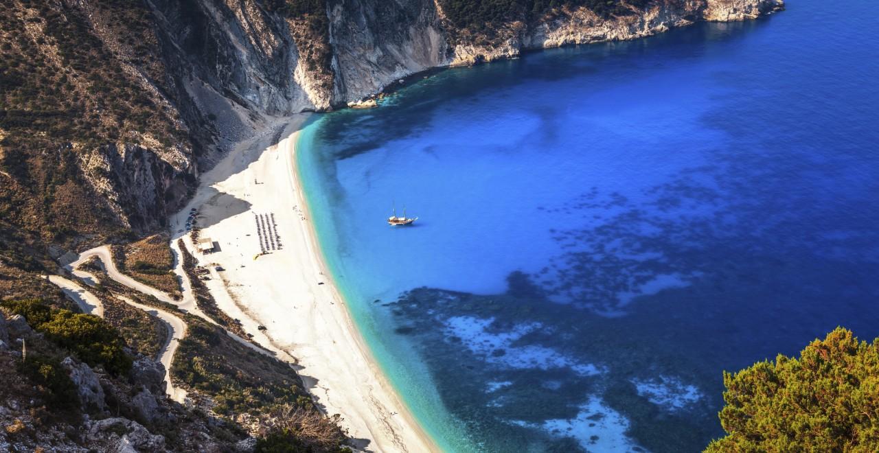 Myrtos beach Kefalonia Hellas