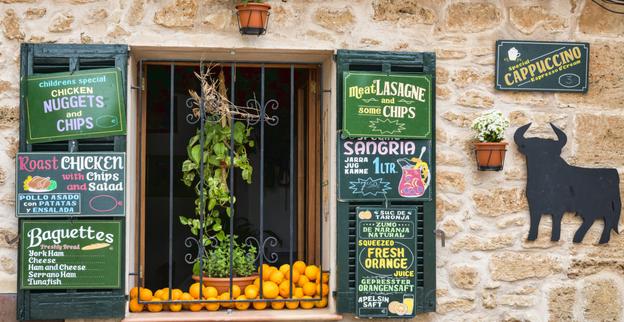 Tapas appelsin Mallorca Spania
