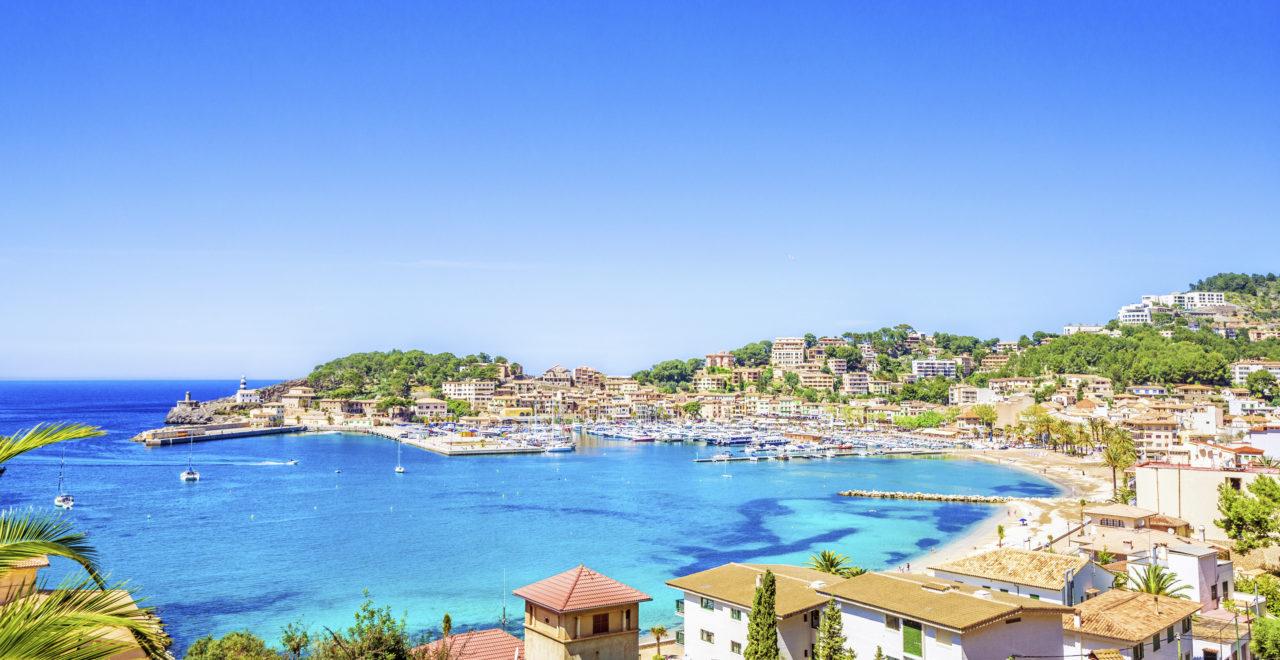 Port de Soller, Mallorca, Spania