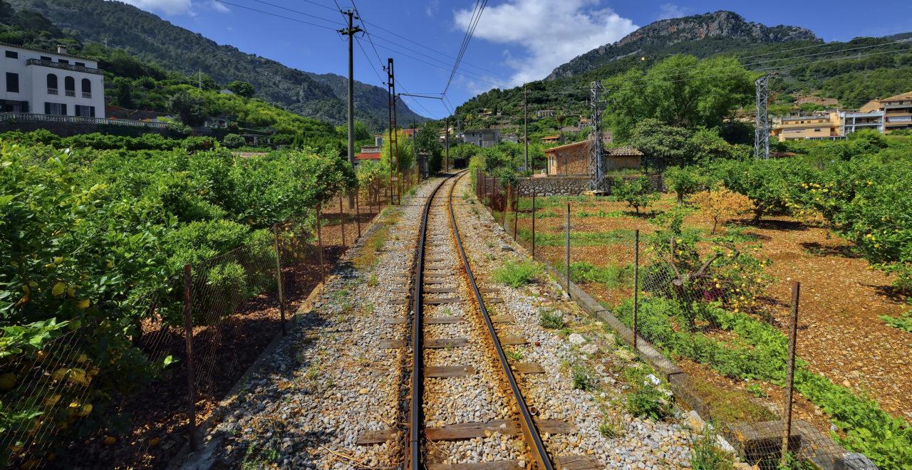 Soller, Mallorca, Spain, tog