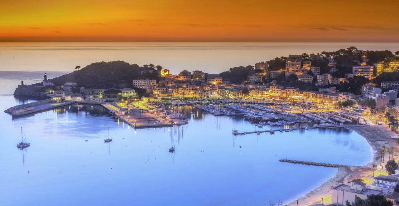 Puerto de Soller, Mallorca, Spania