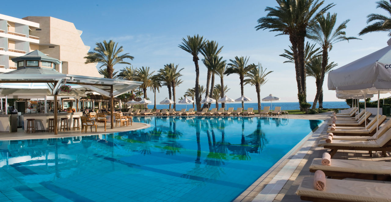 Kypros - Pafos - Pioneer beach hotel