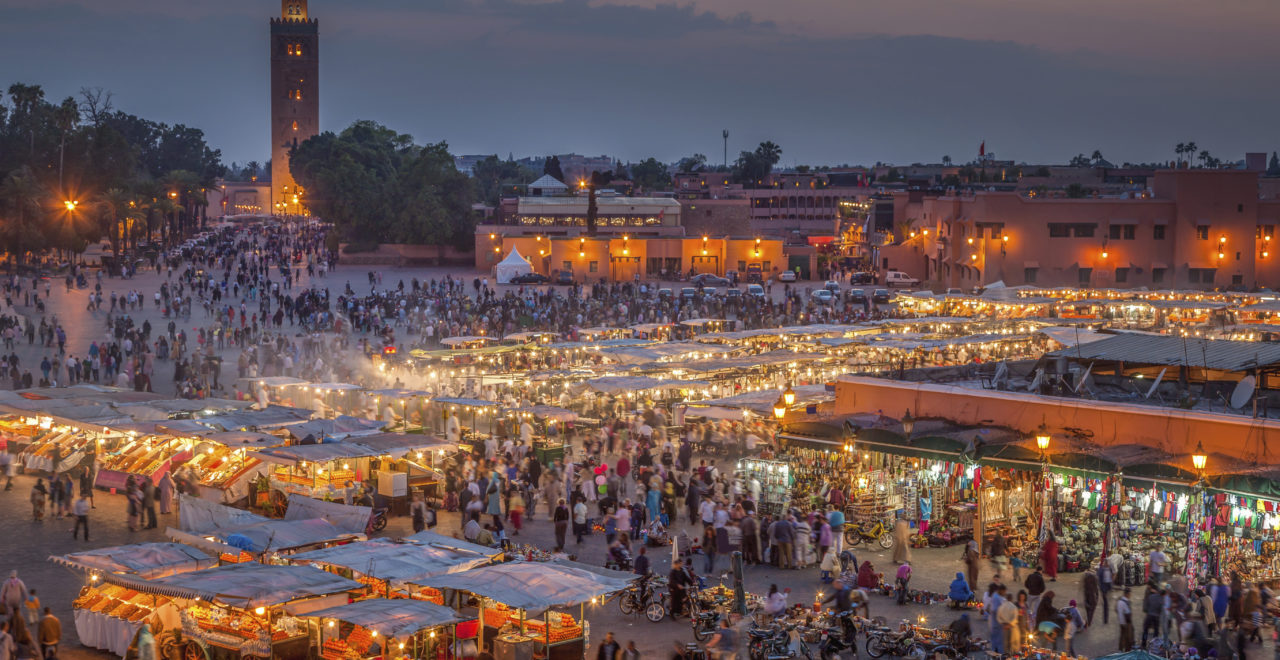 Marokko Marrakesh Djemma el Fna