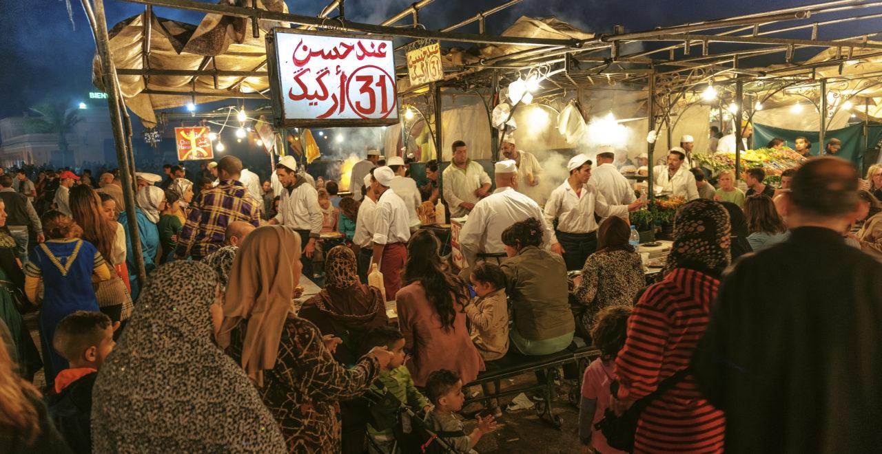 Marrakesh Djemma el Fna mat