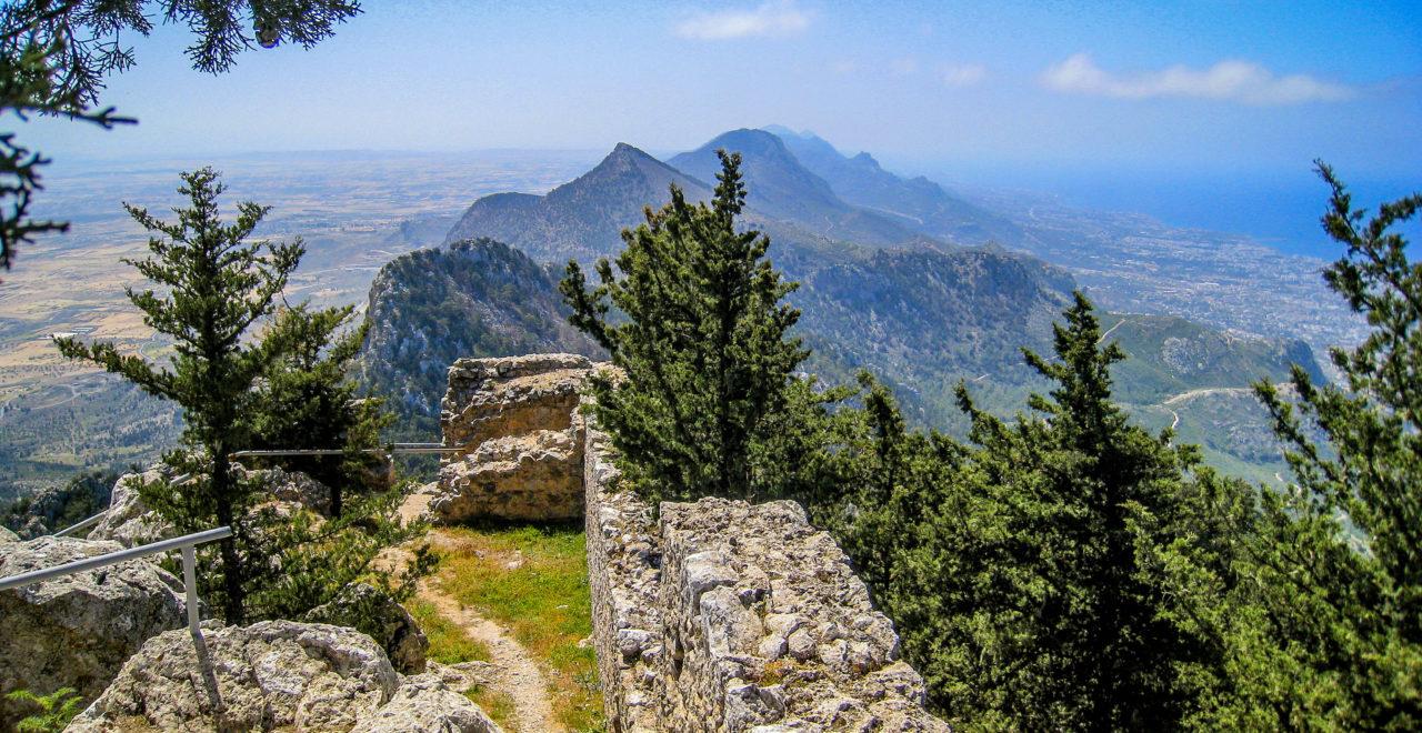 Buffavento castle, Nord-Kypros, foto:Geoff Burgess