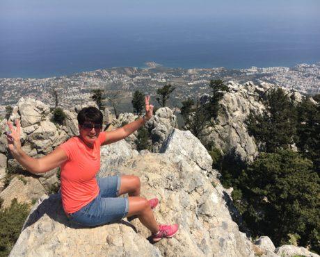 Nord-Kypros St. Hillarion slott vandring