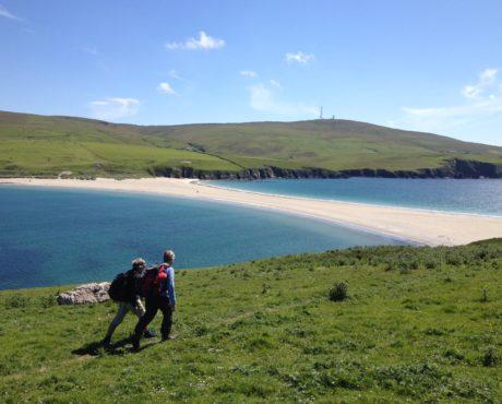 Shetland, vandring