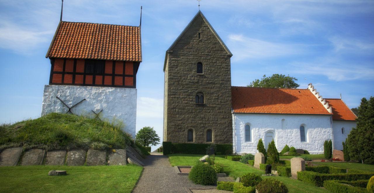 Danmark Bornholm Rutsker kirke