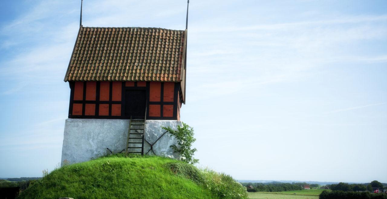 Danmark Bornholm Rutsker kirke brønn