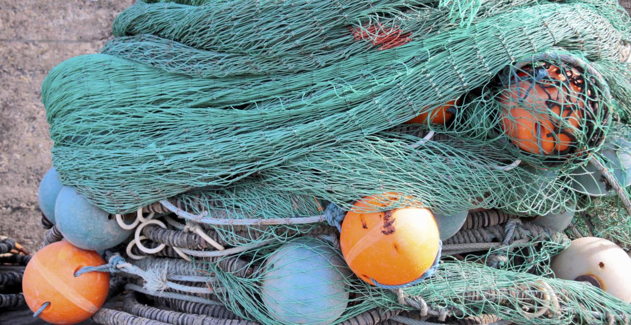 Danmark Bornholm fiskenett