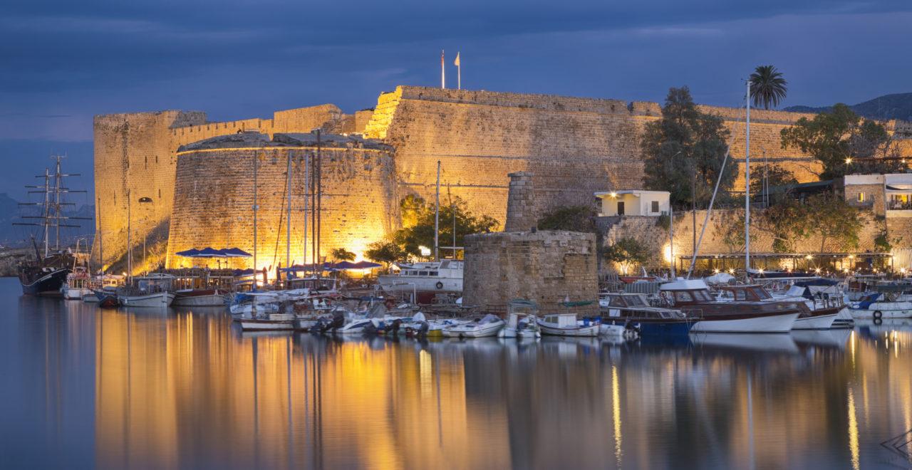Kyrenia, Girne, slott, Nord-Kypros