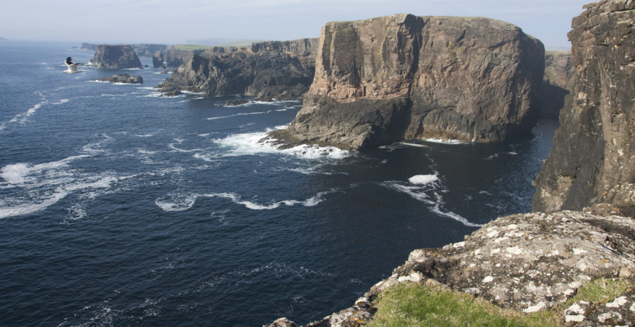 Eshaness, Shetland, Skottland