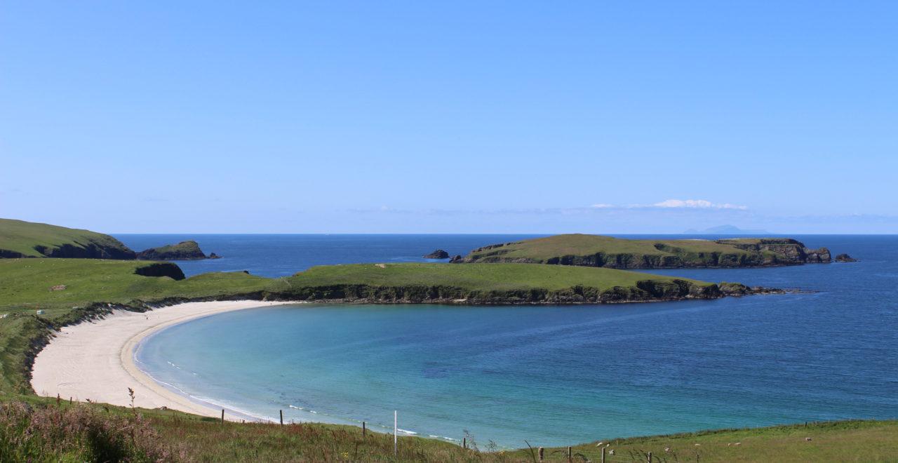 Skottland, Shetland, Strand