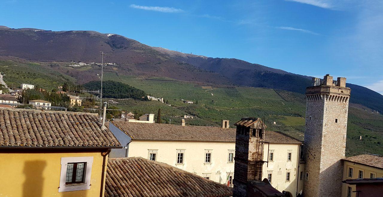 Italia, Umbria, Trevi, Antica Dimora alla Rocca