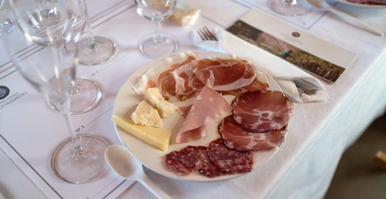 Italia, Umbria, vingård, Scacciadiavoli, mat