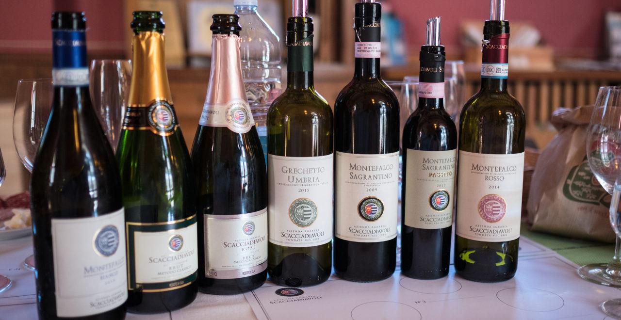 Italia, Umbria, vingård, Scacciadiavoli, vin