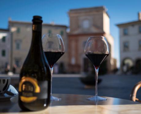 Italia, Umbria, Montefalco, vin