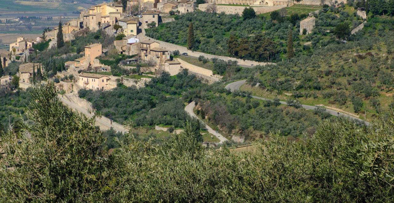 Italia, Umbria, Trevi