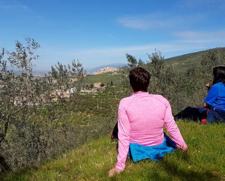 Italia_Umbria_Trevi_vandretur_castello_pisignano