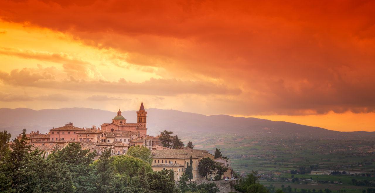 Trevi, Umbria, Italia