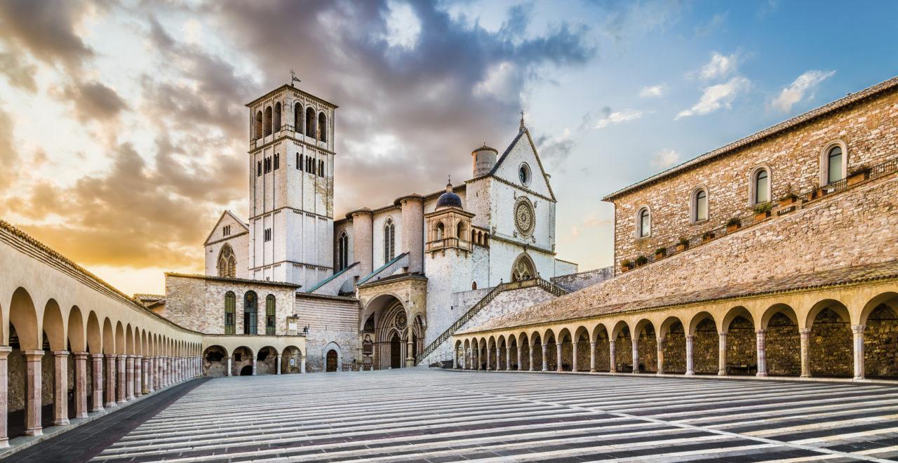 Basilica of St. Francis Assisi, Italia, Umbria