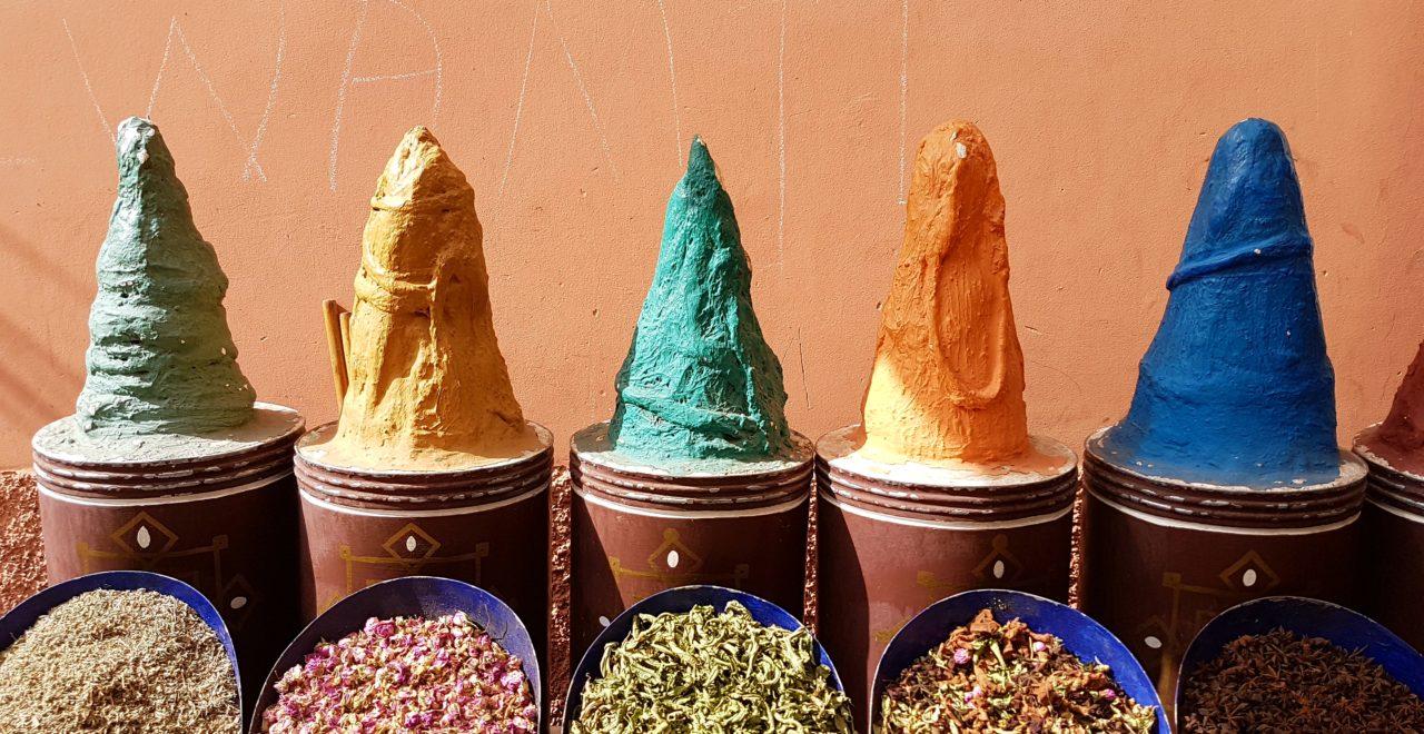 Marokko marked marrakech
