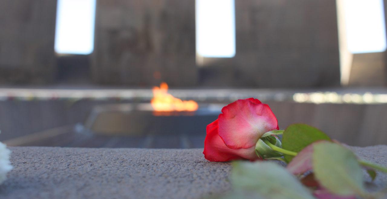 Tsitsernakaberd Jerevan Armenia Genocide memorial