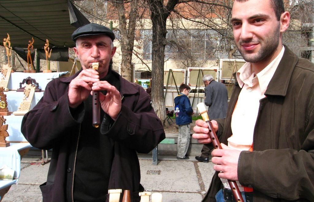 Jerevan Armenia vernissage marked