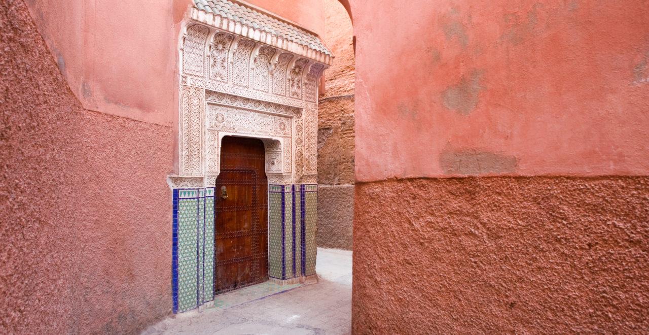 Marokko Marrakech medina