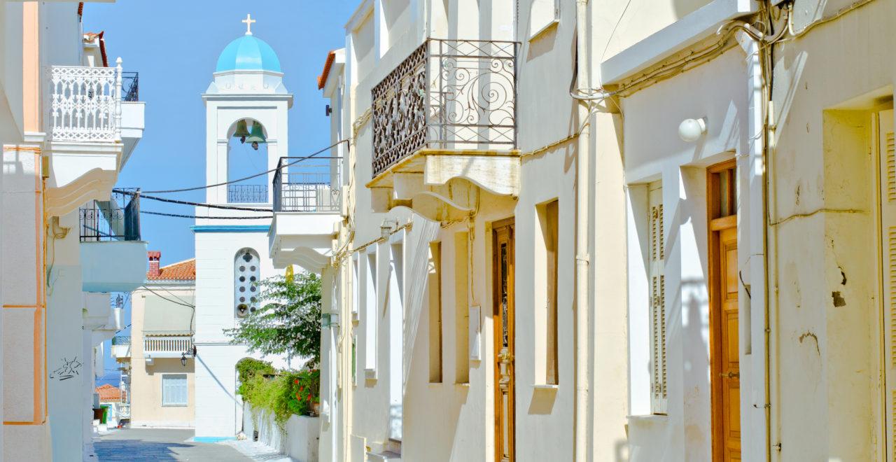 Chora, Andros, Kykladene, Hellas