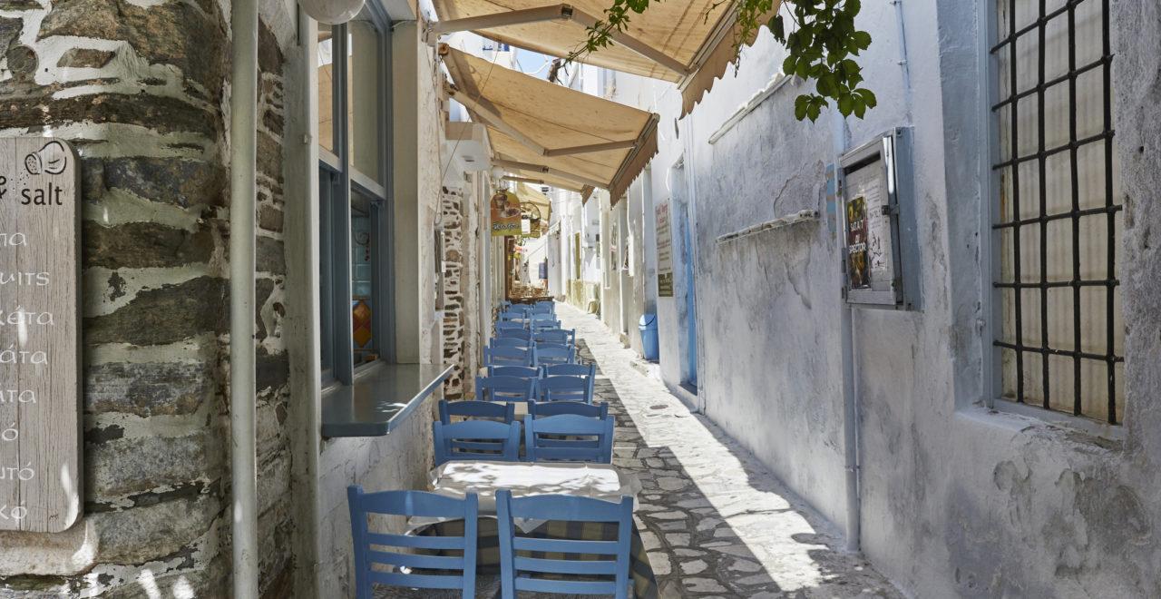 Tinos gate Kykladene Hellas