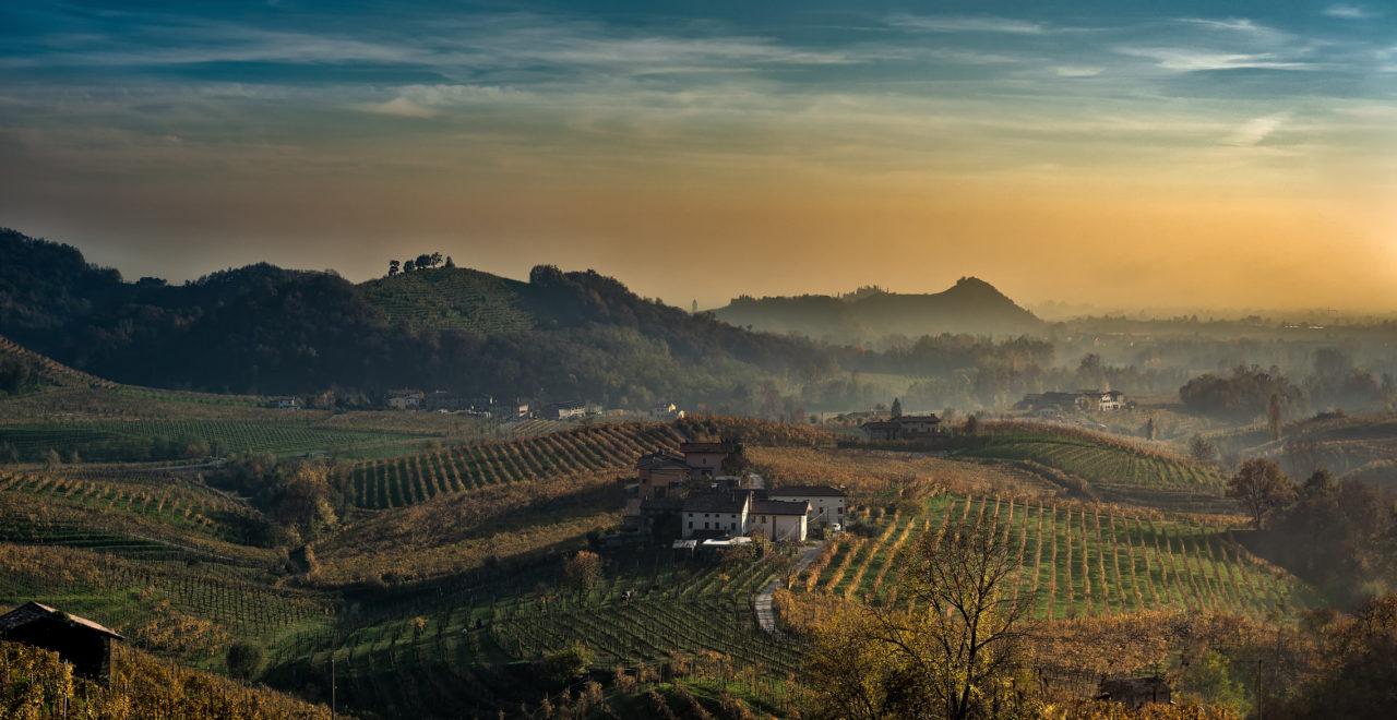 Italia Veneto Valdobbiadene Prosecco