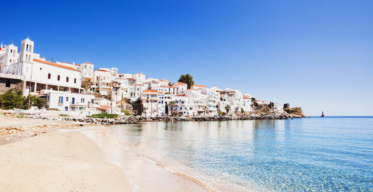 Andros, Kykladene, Hellas