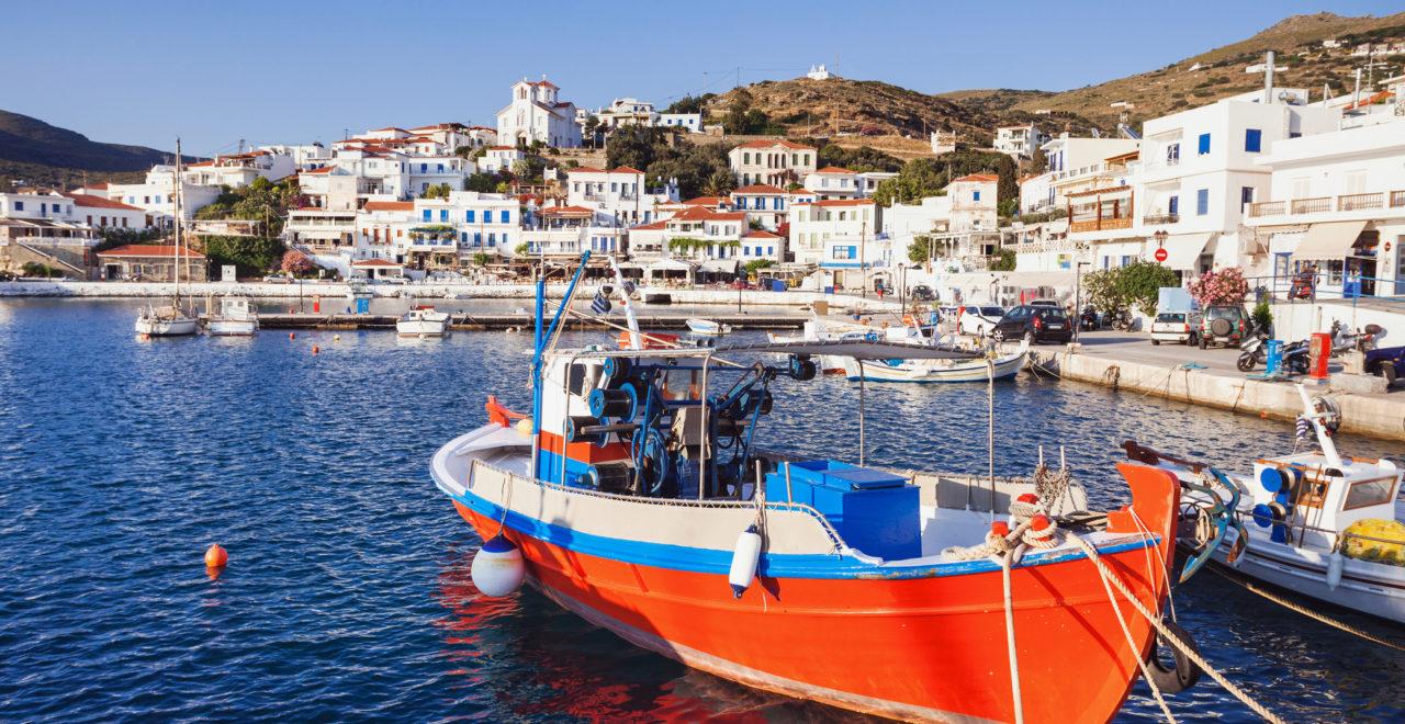 Batsi, Andros, Kykladene, Hellas