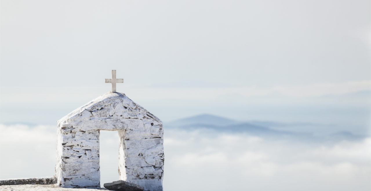 Tinos, kirke, Kykladene, Hellas